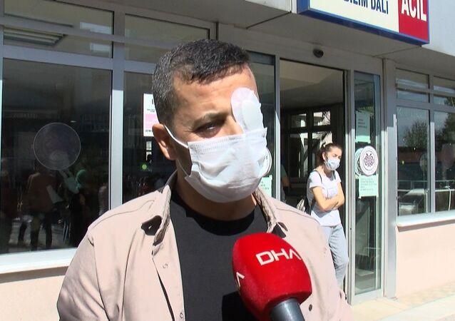Saldırıya uğrayan sağlık çalışanı  Rıfat Babayiğit