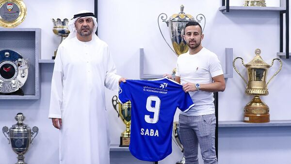 BAE'ye bağlı Dubai'nin futbol kulübü el Nasr, İsrailli ofansif orta saha oyuncusuDiaa Sabia'nın (Diaa Mohamed Saba) transferini duyurdu. - Sputnik Türkiye