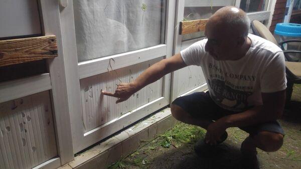 Ayvalık'ta dolu yağışı - Sputnik Türkiye
