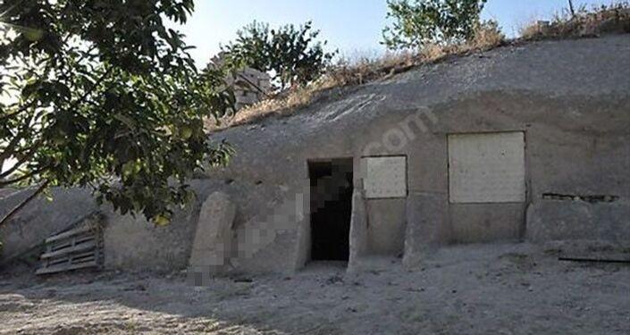 Kapadokya'da kayalar oyuldu, 'yatırımlık butik' olarak internetten satışa çıkarıldı