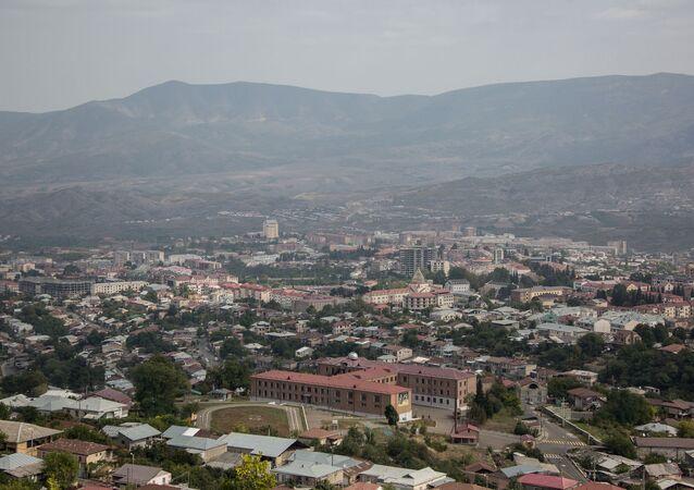Dağlık Karabağ'ın ana kenti Stepanakert (Hankendi)
