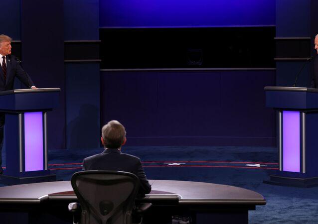 Trump ile Biden'ın ilk canlı yayın tartışması