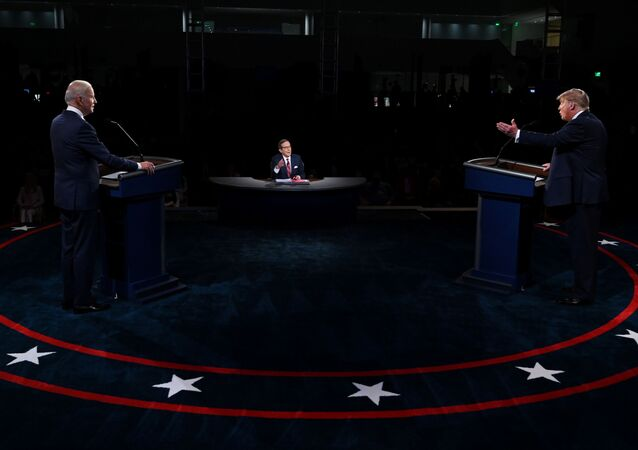 Trump ile Biden-canlı yayın tartışması