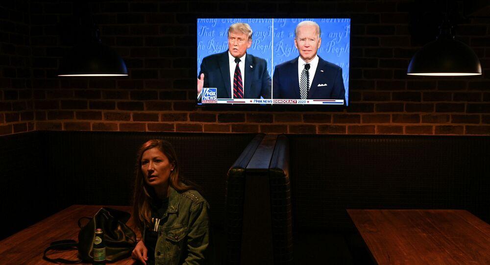 Trump-Biden canlı tartışması