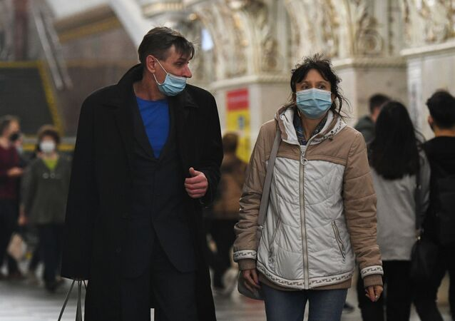Rusya - koronavirüs - maske