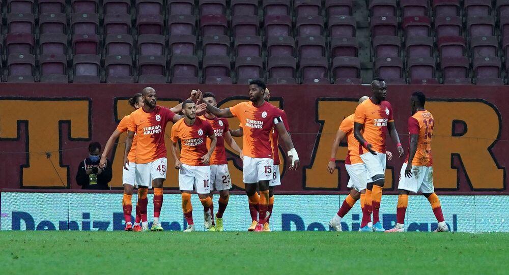 Galatasaray futbolcuları