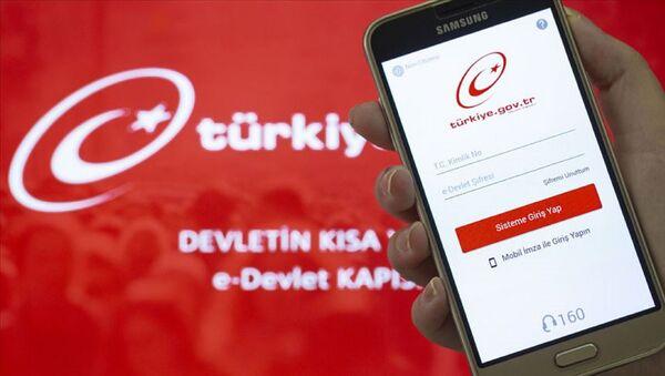 e-Devlet Kapısı uygulaması - Sputnik Türkiye