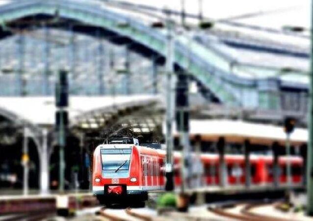 Almanya'da tren