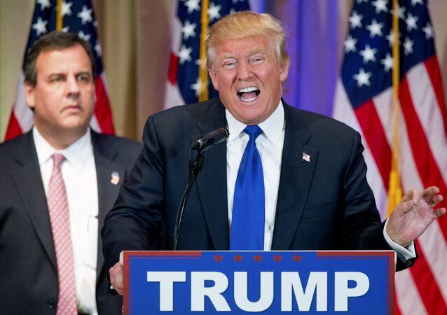 Donald Trump -  Chris Christie.