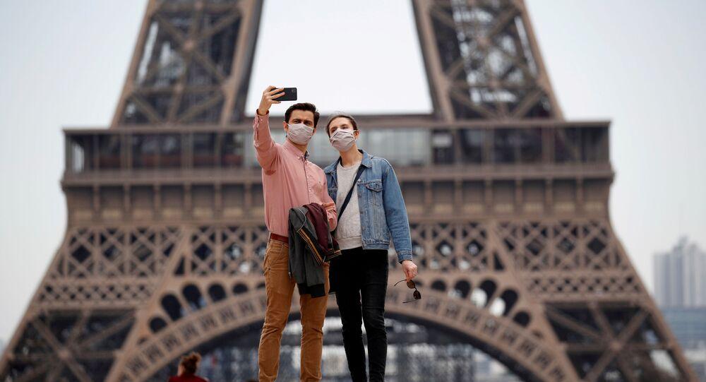 Fransa  - koronavirüs - maske