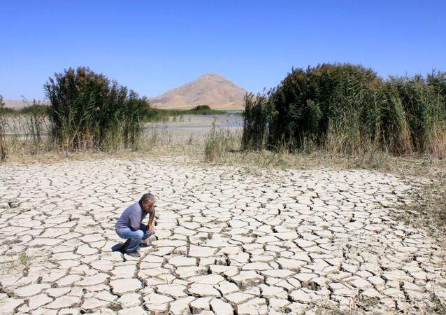 Erol Kesici, kuraklık, göl