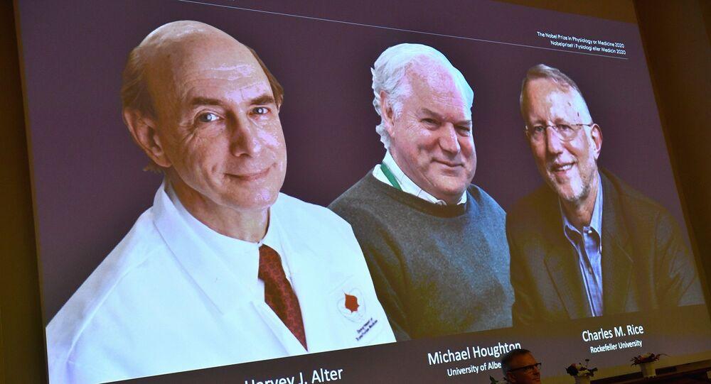 Harvey J. Alter, Michael Houghton ve Charles M. Rice