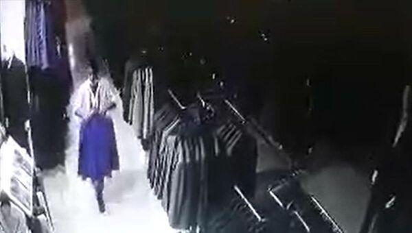 Samsun, takım elbesi hırsızlığı - Sputnik Türkiye