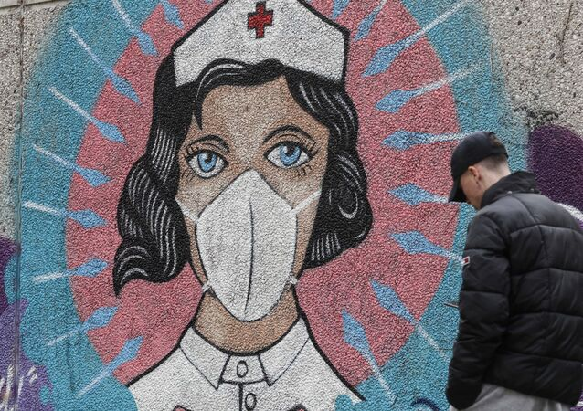 Koronavirüs - kovid-19 - maske  - Almanya