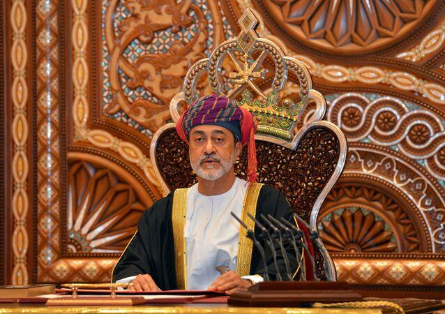Ocak 2020'de tahta geçen Umman Sultanı Heysembin Tarık bin Teymur el Said