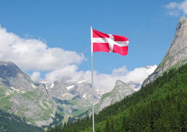 Fransa'nın 1860'da ilhak ettiğiSavoie (Savoy) bölgesinin bayrağı
