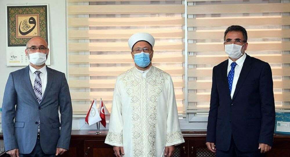 Diyanet İşleri Başkanlığı Din İşleri Yüksek Kurulu başkanlığına Abdurrahman Haçkalı seçildi.
