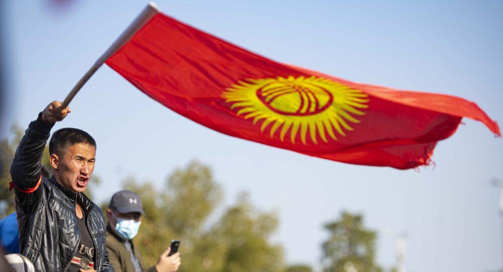 Kırgızistan - seçim protestoları