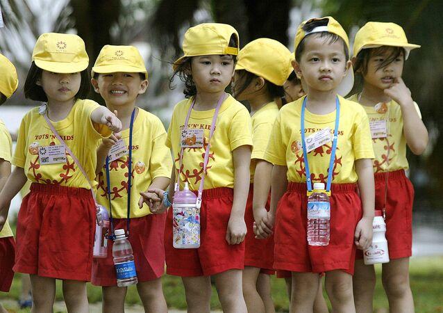 Singapur - çocuk