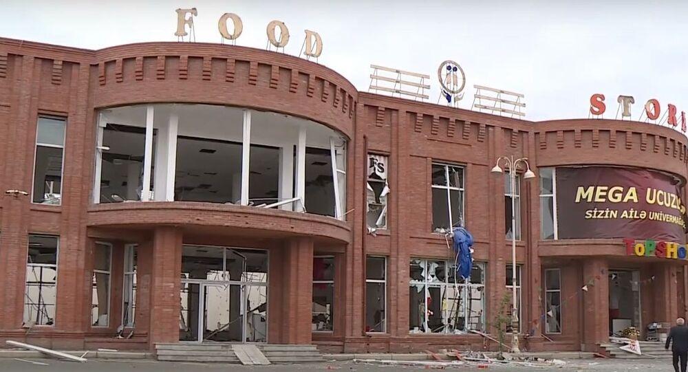 Azerbaycan: Ermenistan, Gence'de pazar yerini vurdu