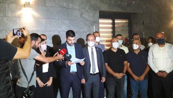 Kuzey Kıbrıs'ta Halkın Partisi koalisyondan çekildi, hükümet düştü - Sputnik Türkiye