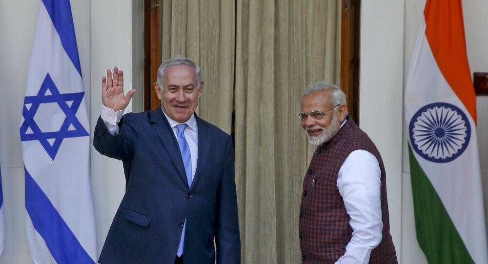Benyamin Netanyahu - Narenda Modi
