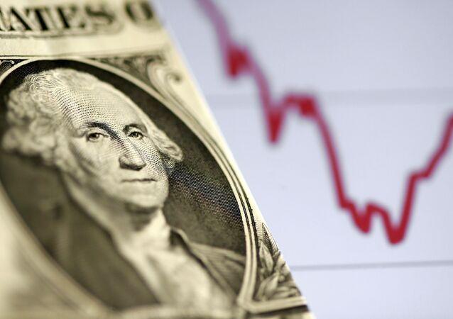 Hisse senedi grafiği - ABD doları - Dolar