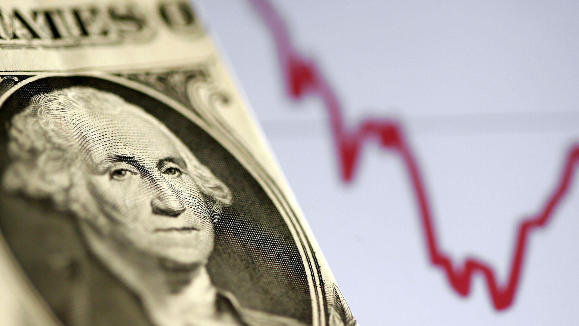 Hisse senedi grafiği - ABD doları - Dolar - Sputnik Türkiye, 1920, 16.04.2021