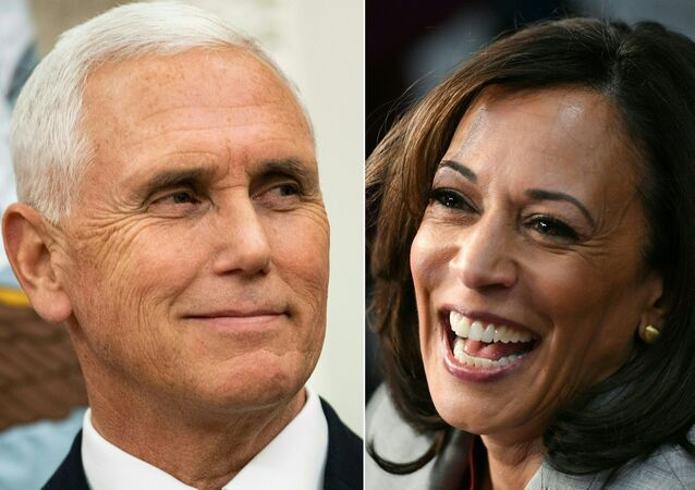 Mike Pence ve Kamala Harris