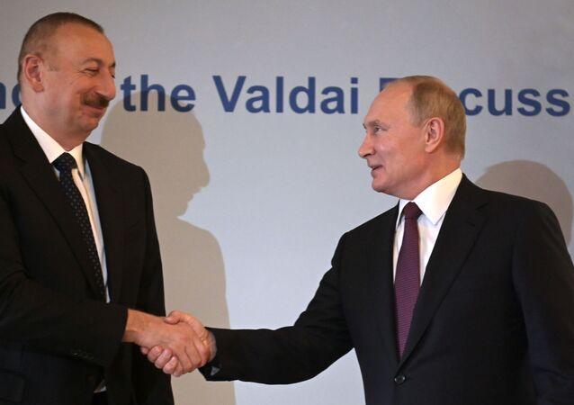 İlham Aliyev, Vladimir Putin