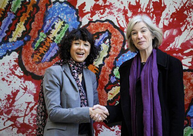 Emmanuelle Charpentier ve Jennifer A. Doudna