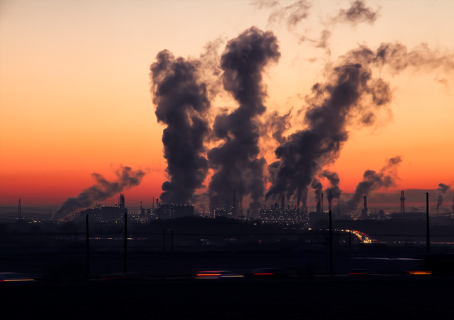 hava kirliliği, fabrika, duman