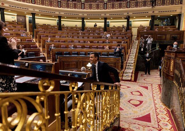 Pedro Sanchez  - İspanya parlamentosu