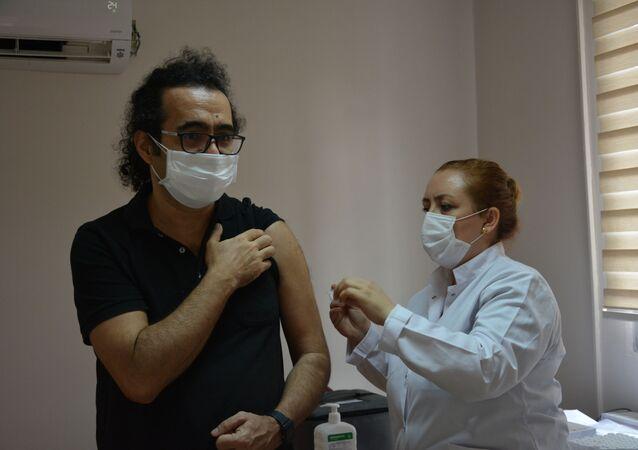 koronavirüs aşısı - İzmir