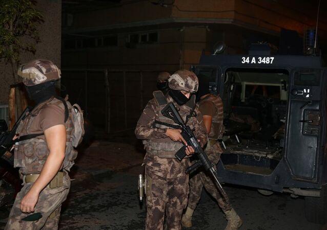 İstanbul'da PKK'ya yönelik operasyon düzenlendi.