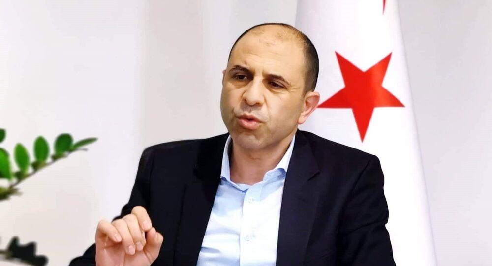 Kuzey Kıbrıs Bağımsız Cumhurbaşkanı Adayı, Başbakan Yardımcısı ve Dışişleri Bakanı Kudret Özersay