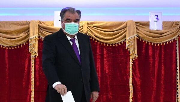 Tacikistan Devlet Başkanı İmamali Rahman - Sputnik Türkiye