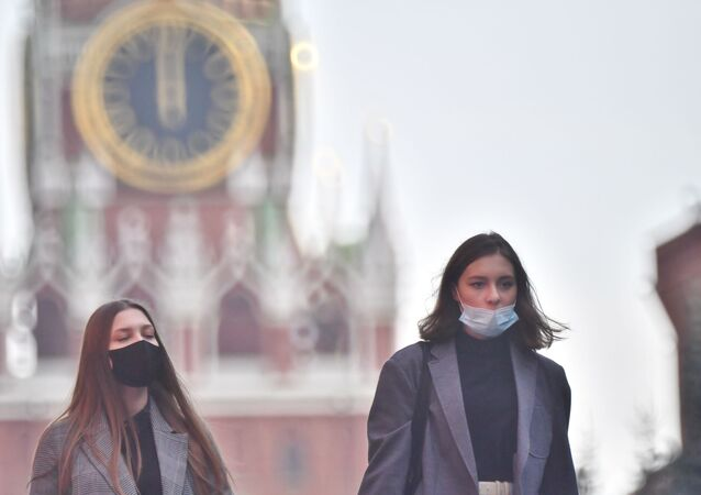 Rusya  - Koronavirüs  - maske  - Kovid-19