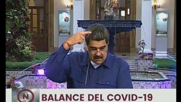 Venezüella Devlet Başkanı Nicolas Maduro, canlı yayında gelen sinek üzerinden ABD Başkan Yardımcısı Mike Pence ile dalga geçti. - Sputnik Türkiye