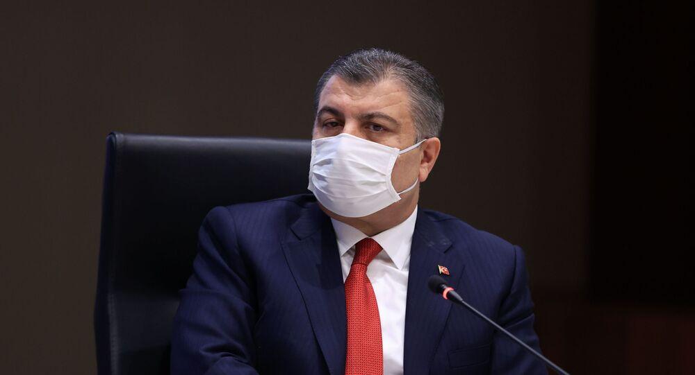 Sağlık Bakanı Fahrettin Koca, Yerli Aşı Ortak Çalışma Grubu'nun ilk toplantısına başkanlık etti.