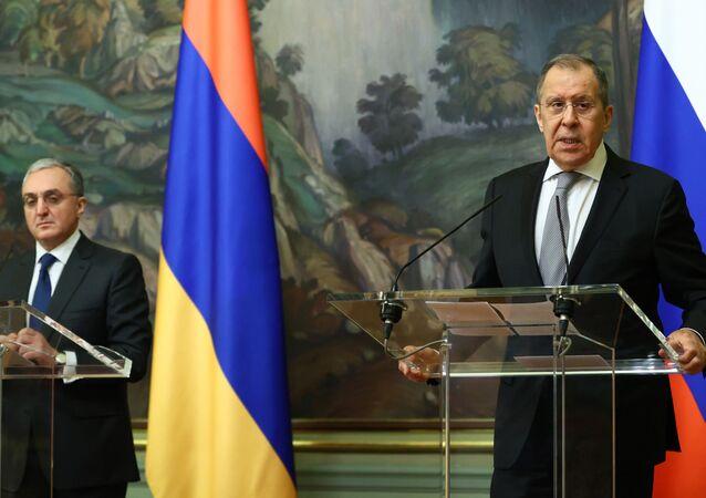 Zohrab Mnatsakanyan-Sergey Lavrov