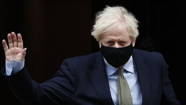 Boris Johnson - Sputnik Türkiye
