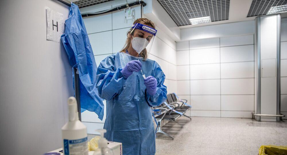 İtalya - koronavirüs test