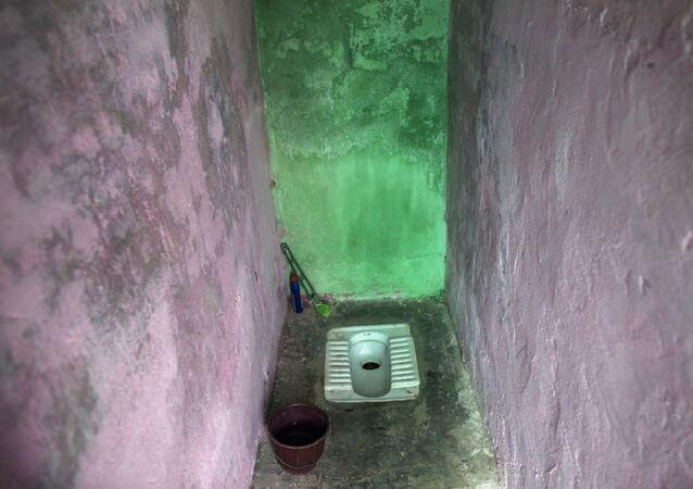 Haryana'da bir tuvalet, Hindistan