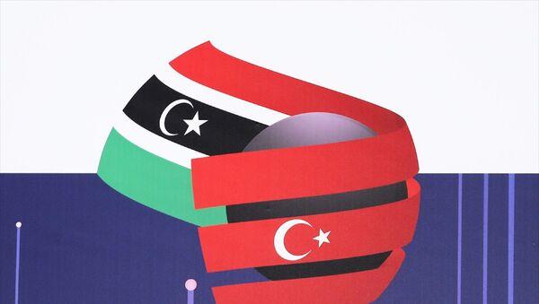Libya'nın ekonomi alanında önde gelen 200 kamu ve sivil toplum kuruluşu ile özel şirketlerinin liderleri, iki ülke arasındaki ekonomik ilişkilerin artırılması ve yeni iş birlikleri yapılması amacıyla Türkiye'ye geldi.  Türkiye Libya  - Sputnik Türkiye
