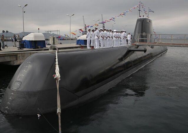 Type-214 Yunan denizaltı