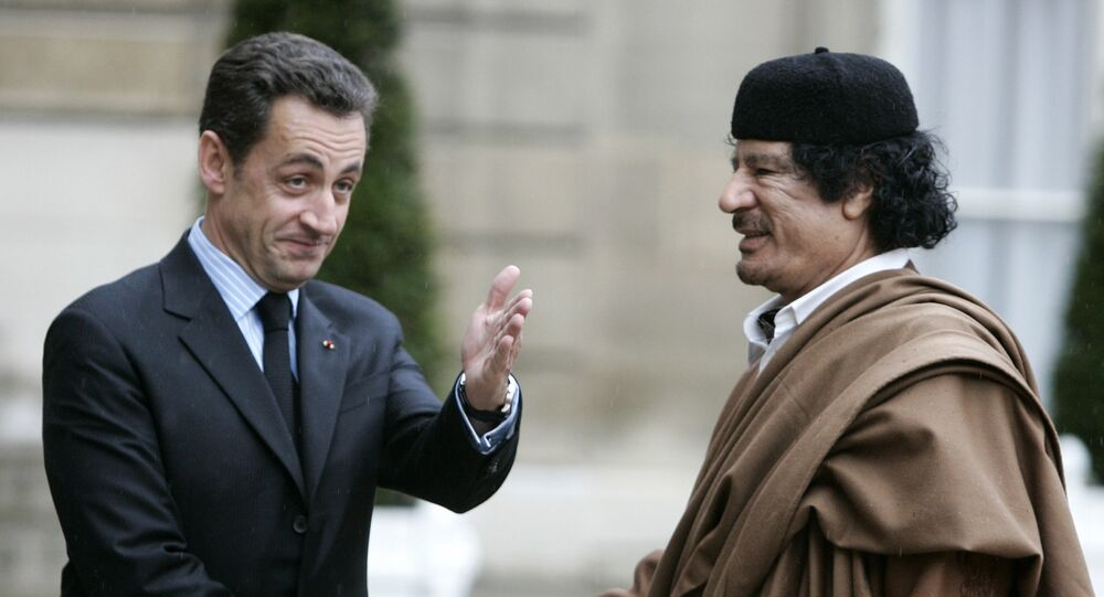 NicolasSarkozy - Muammer Kaddafi