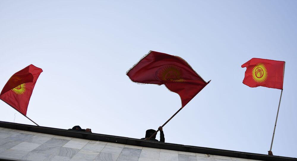 Kırgızistan, bayrak, protestolar