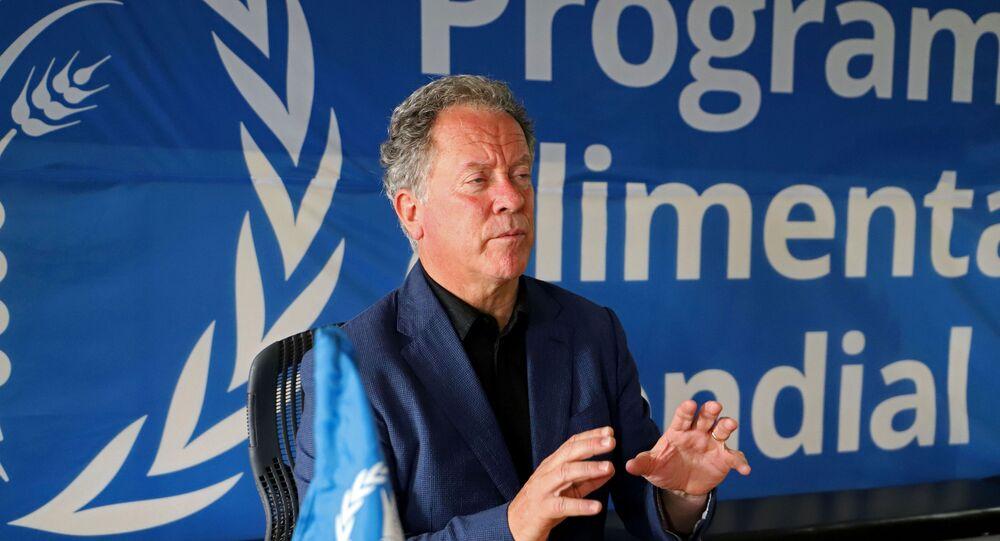 Nobel Barış Ödülü'ne layık görülen Birleşmiş Milletler (BM) Dünya Gıda Programı (WFP) Direktörü David Beasley
