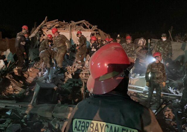 Ermenistan'ın Azerbaycan'ın ikinci büyük kenti Gence'ye düzenlediği füze saldırısı